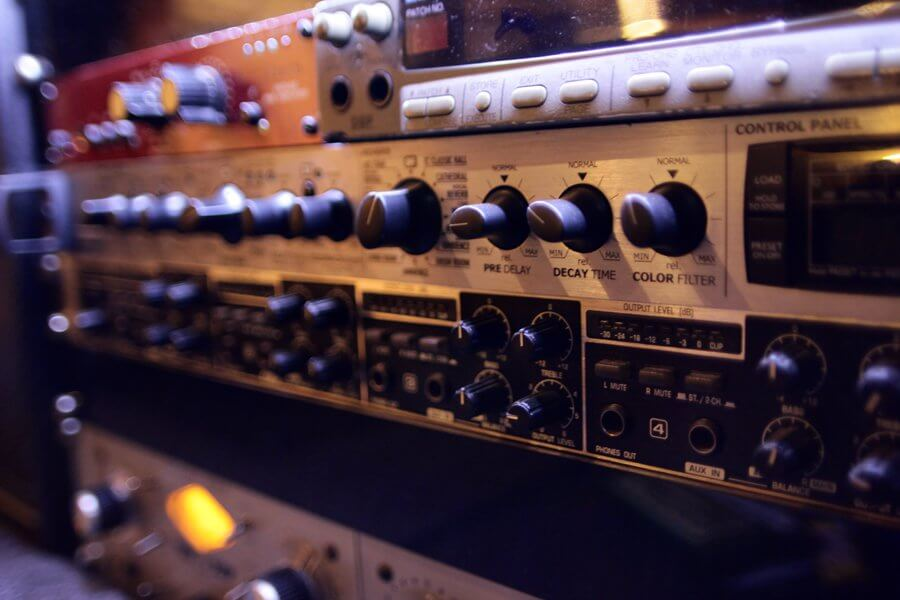 Audio hardware post production